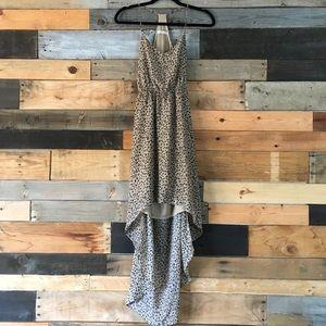 Highlow Leopard Dress